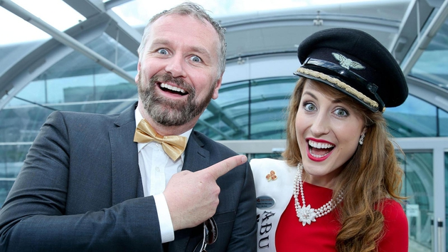 Dáithí O Sé is back with the conclusion of this year's Rose of Tralee