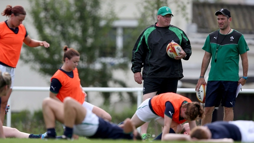 Philip Doyle previously took charge of the Irish women's team
