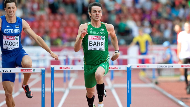Thomas Barr was content with his performance in making the semi-finals