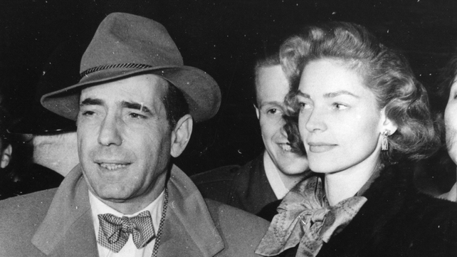 When Bogart died from throat cancer in 1957, Bacall placed a whistle in his coffin