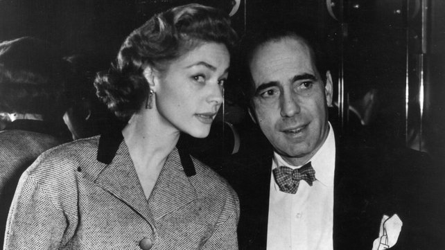 Lauren Bacall starred in many movies with her husband Humphrey Bogart