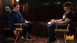 Tarantino and Rodriguez - Friends, fans and filmmakers Screengrab copyright: El Rey network
