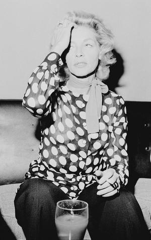 Lauren Bacall, 1972
