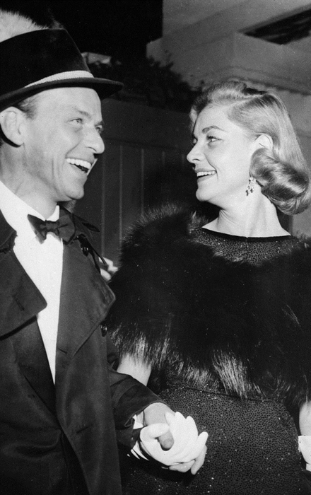 Frank Sinatra and Lauren Bacall