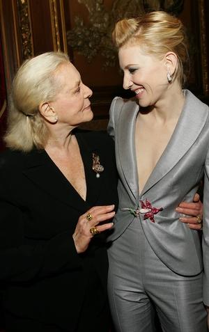 Lauren Bacall and Cate Blanchett, 2006