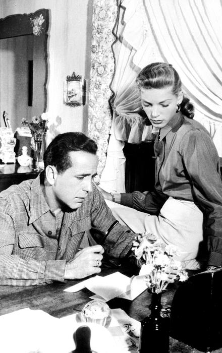 Humphrey Bogart and Lauren Bacall in 1948