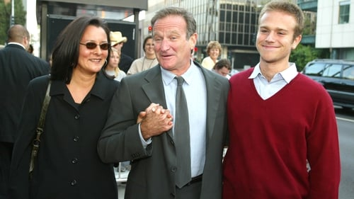 Marsha Garces Williams, Robin Williams and son Zachary