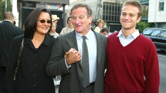 Marsha Garces Williams, Robin Williams and son Zachary