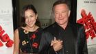 Robin Williams with daughter Zelda