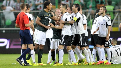 Legia Warsaw lost Champions League spot to Celtic after administrative error by the Poles