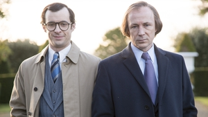 Tom Vaughan-Lawlor and Aidan Gillen in Charlie