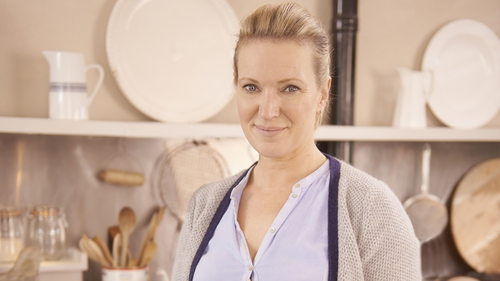 Rachel Allen was spotted at a rumoured test shoot for the Great British Bake Off