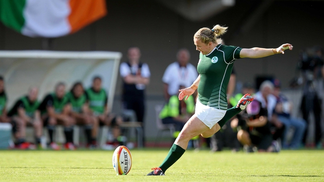Briggs' kicking has been a huge asset to Ireland in the 2014 World Cup