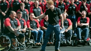 Britain's Prince Harry at the naming of the British Armed Forces team for the upcoming Invictus Games