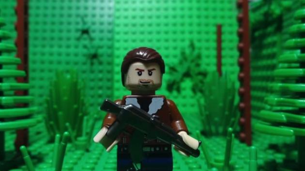 Lego goes dark