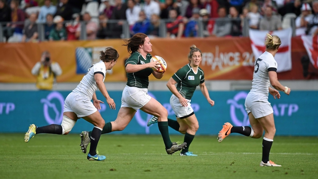 Ireland attack late in the game