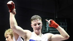 Michael O'Reilly is through to the 75kg final