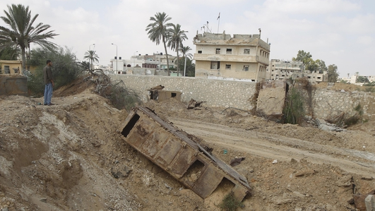Ceasefire offers chance to rebuild Gaza