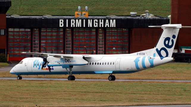 The incident happened on a Flybe flight in February