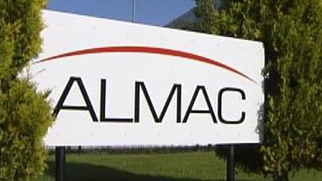 Almac already employs 2,100 people in Northern Ireland