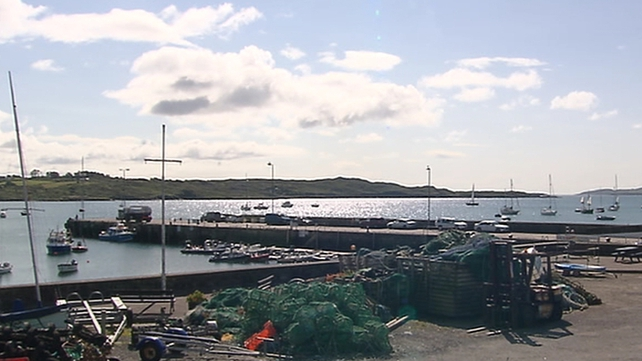Two people were found on Castle Island in Schull Harbour