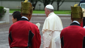 The pontiff is visiting South Korea from 14 August to 18 August