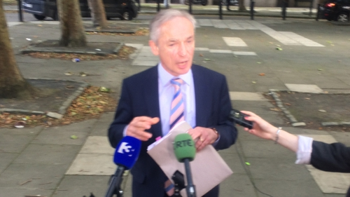 Richard Bruton said his department's capital spend will increase to €500m