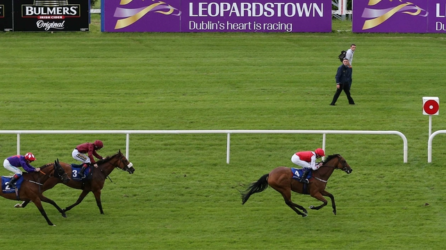 Custom Cut claimed an impressive victory at Leopardstown