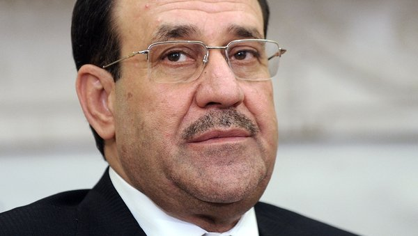 Nuri al-Maliki made the announcement on television