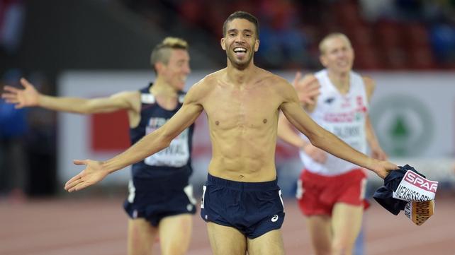 Mahiedine Mekhissi-Benabbad was disqualified under IAAF competition rules