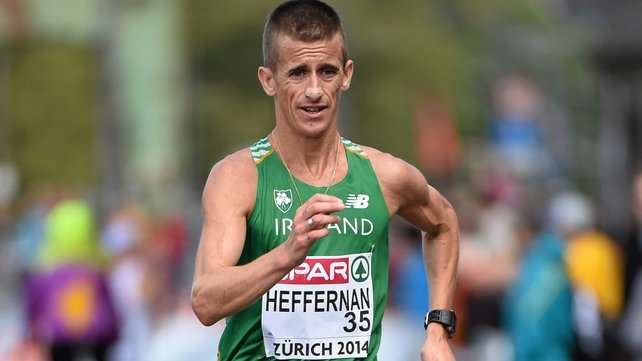 World champion Rob Heffernan struggled in Zurich leading to his withdrawal