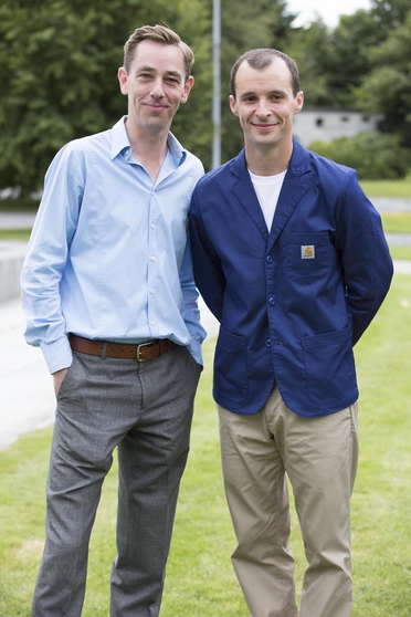 Ryan Tubridy and Tom Vaughan-Lawlor