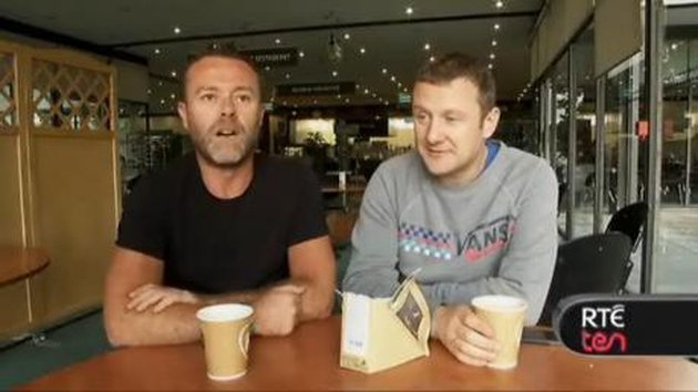 Eric Lalor and PJ Gallagher