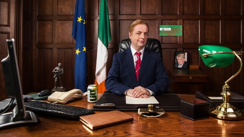 Callan as Enda Kenny addresses the nation
