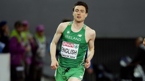 Mark English claimed bronze in the men's 800m
