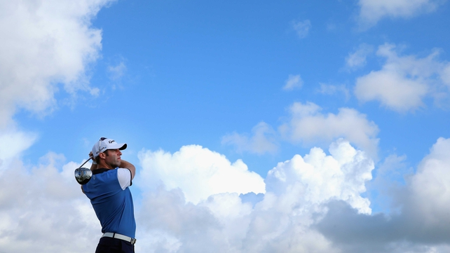 Bradley Dredge hit form on the second day of the Made in Denmark event