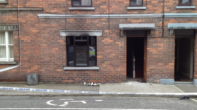 A woman has been charged with arson over the blaze