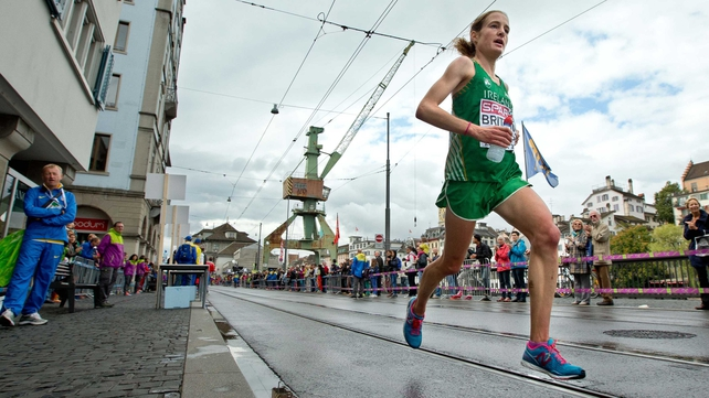 Fionnuala Britton ran well to finish 10th in her first attempt at the endurance event in Zurich