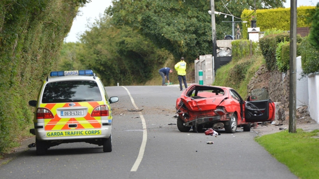 A man and a woman died in the car crash in Cork