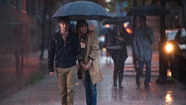 The obligatory rain scene
