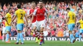 Ramsey's injury time goal gives Arsenal victory
