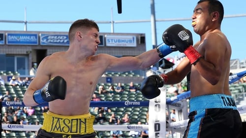 Jason Quigley enjoyed a facile victory in the California sunshine