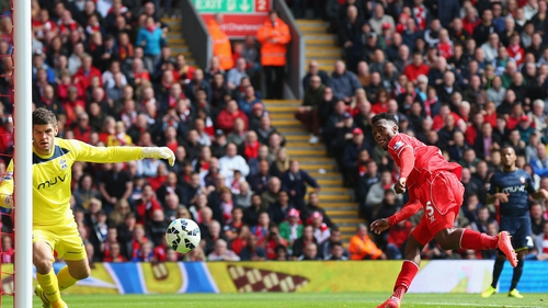 Daniel Sturridge's goal secured the points for a Liverpool side who were not at their best