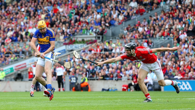 Seamus Callanan bagged 2-04 as Tipperary easily saw off their age-old rivals