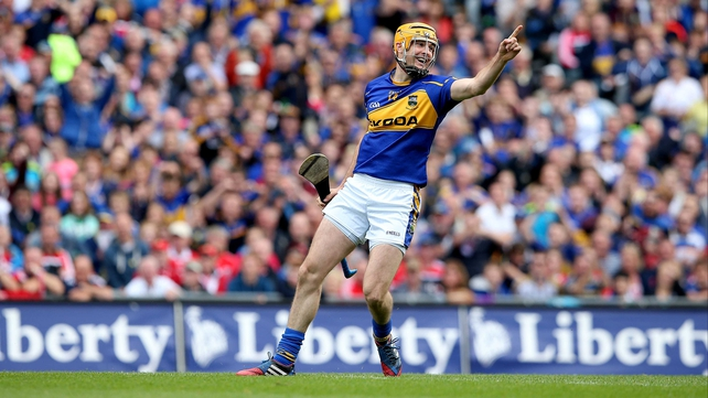 Seamus Callanan scored 2-04 to help Tipp book a place in the All-Ireland final