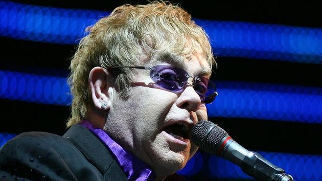 Elton: Saved by Kate's singing
