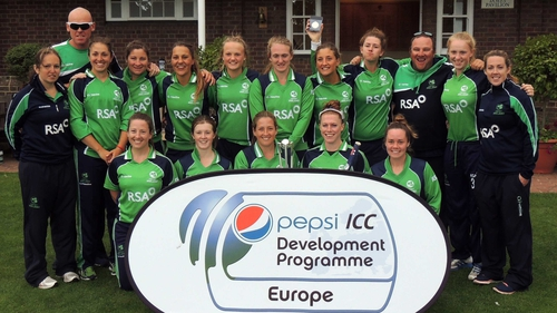 Victorious Ireland women's team leave the T20 championships unbeaten