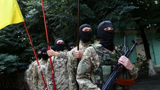 Civilians killed fleeing fighting in Ukraine