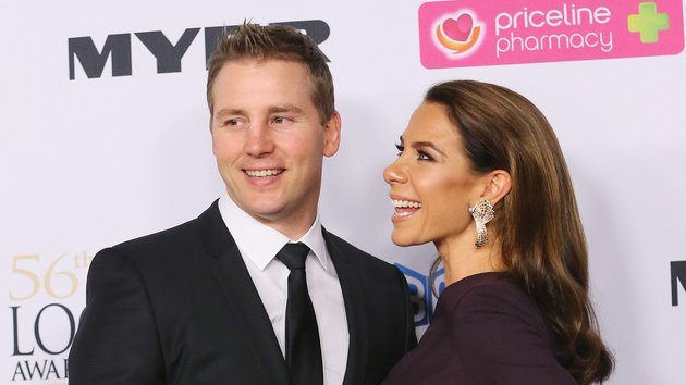 Baby joy for Kate Ritchie and her husband Stuart Webb