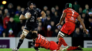 John Muldoon in action during Connacht's famous win over Toulouse last season